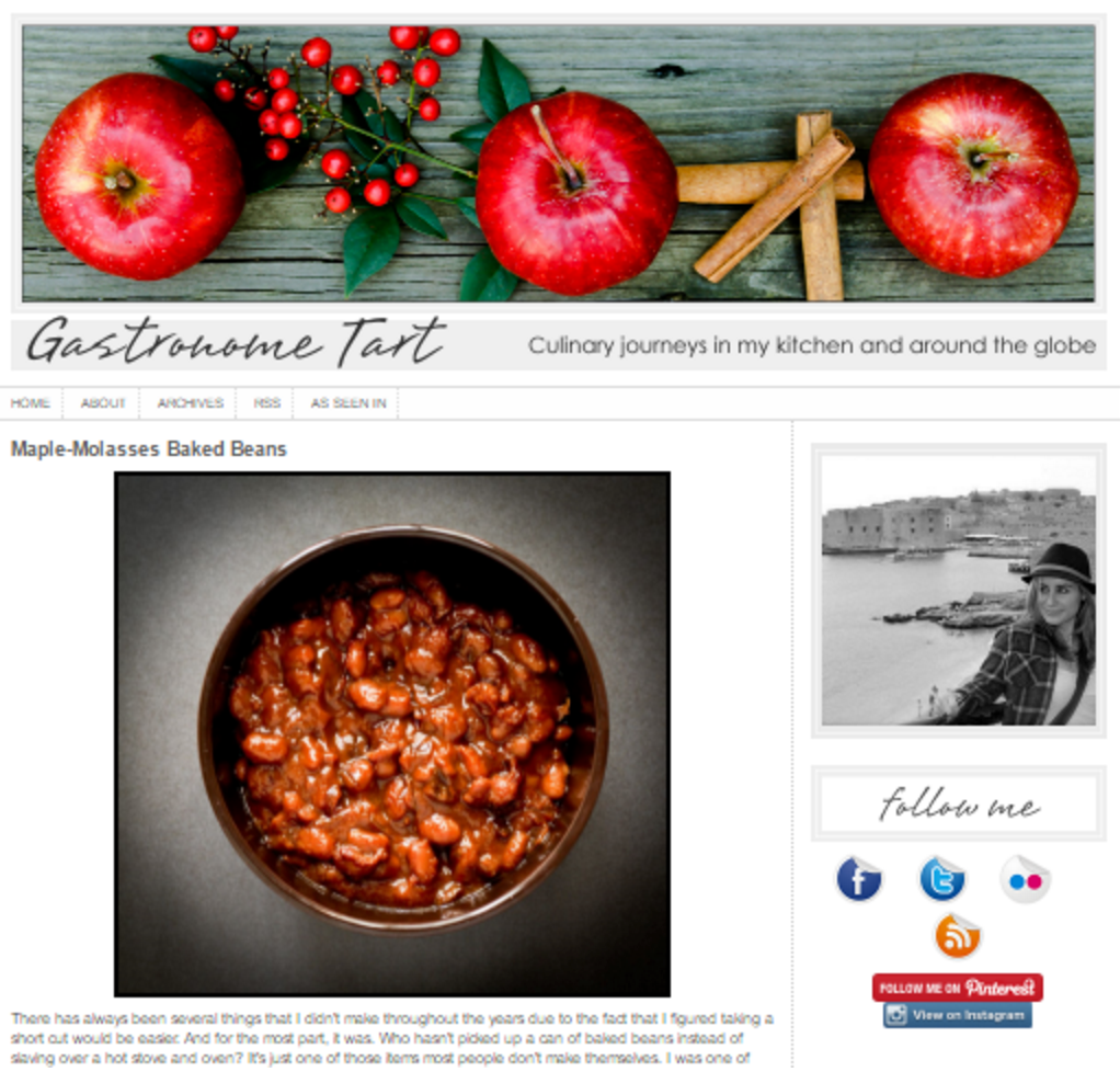 typepad for food blog