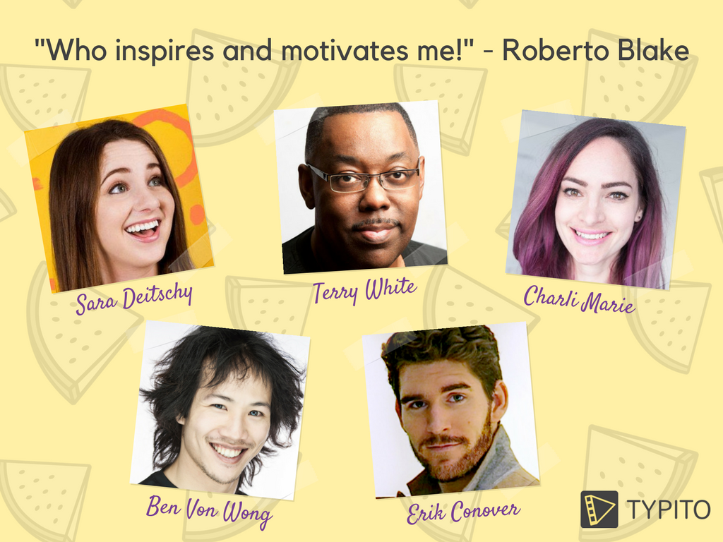 YouTubers and influencers who keep Roberto going!