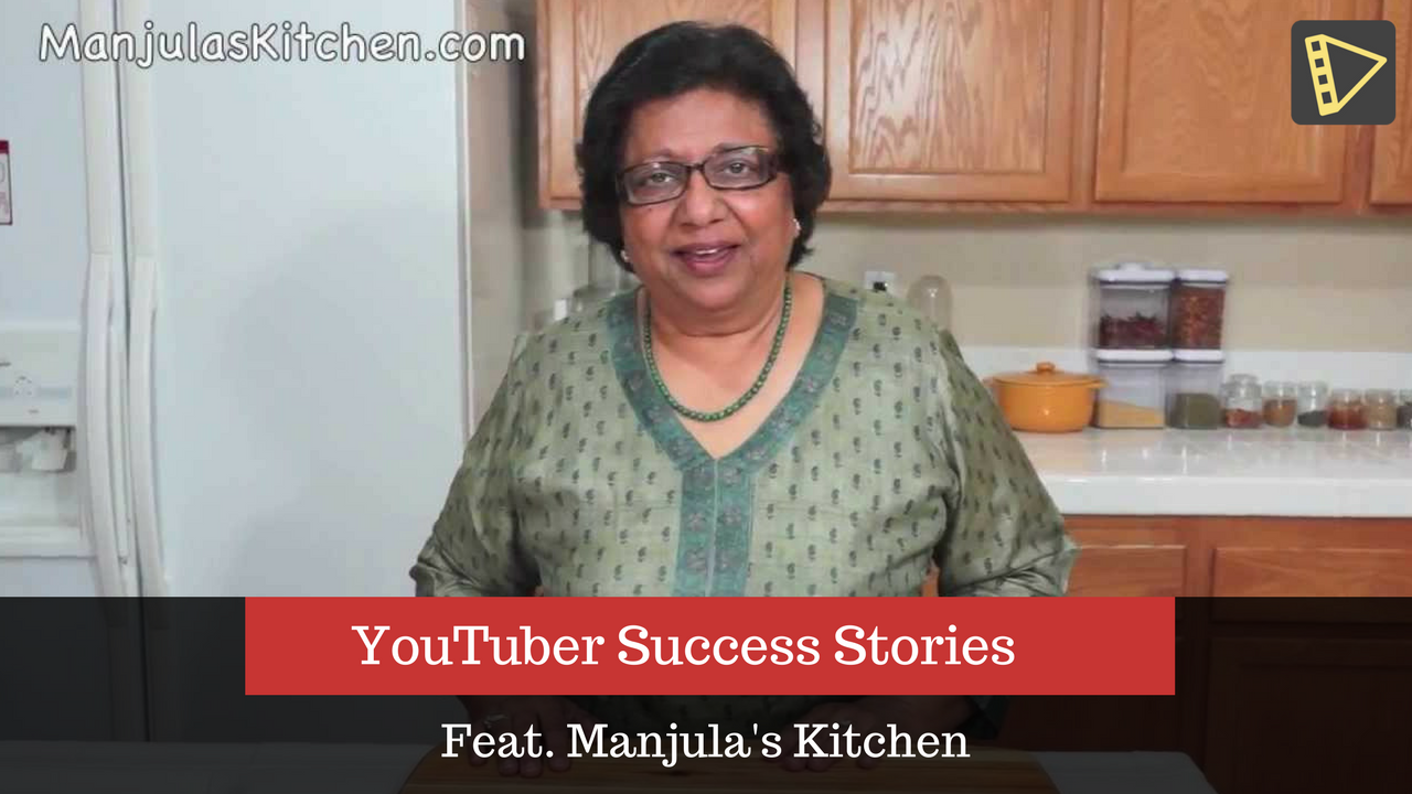Welcome to part I of our interview featuring Manjula's Kitchen