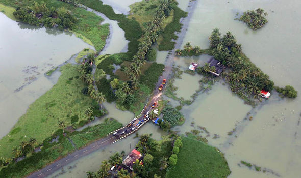 Kerala is witnessing a natural calamity