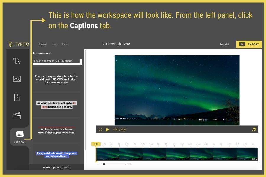 how to add captions to videos online