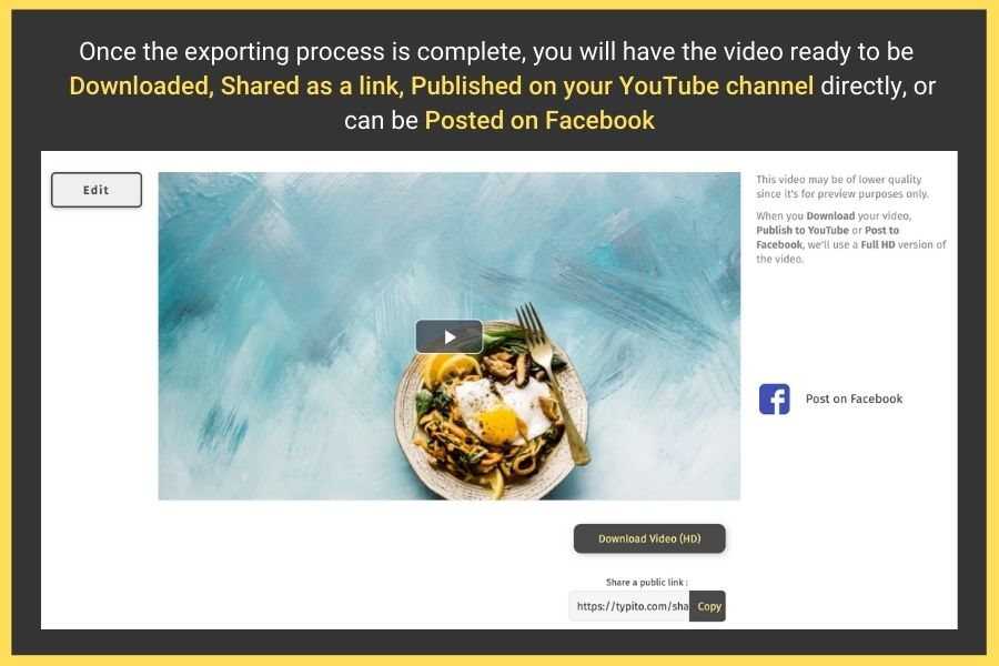 Create Videos with Pictures and Music online