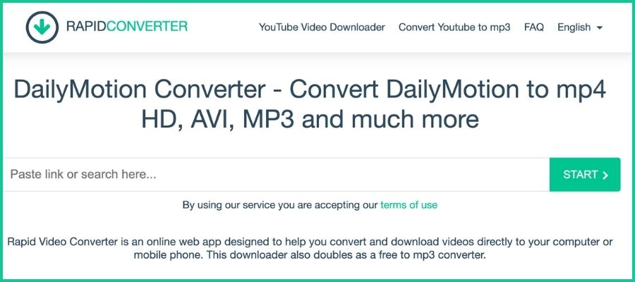 Dailymotion to mp4 converter