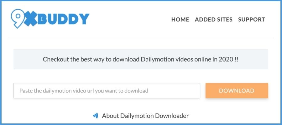 Dailymotion to mp4 converter online