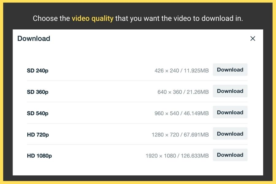 how to download a video from vimeo
