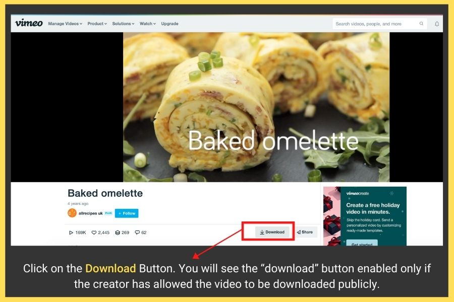 how to download videos from vimeo