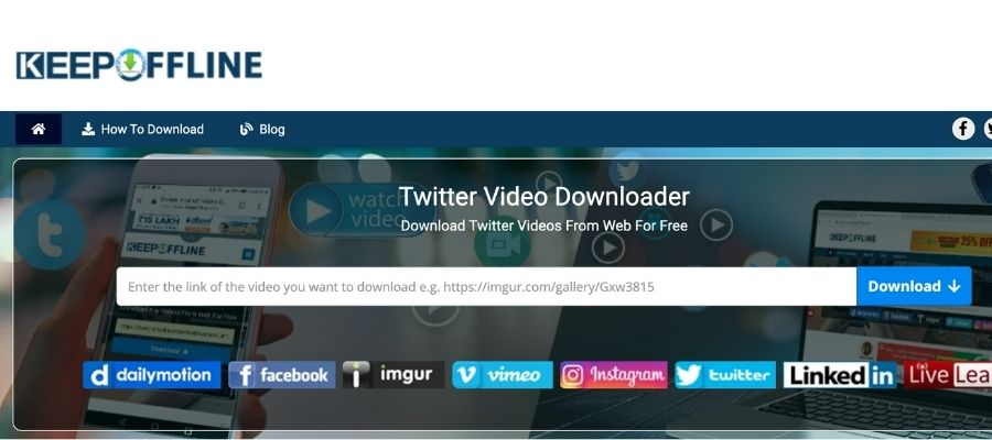 How to download videos from twitter