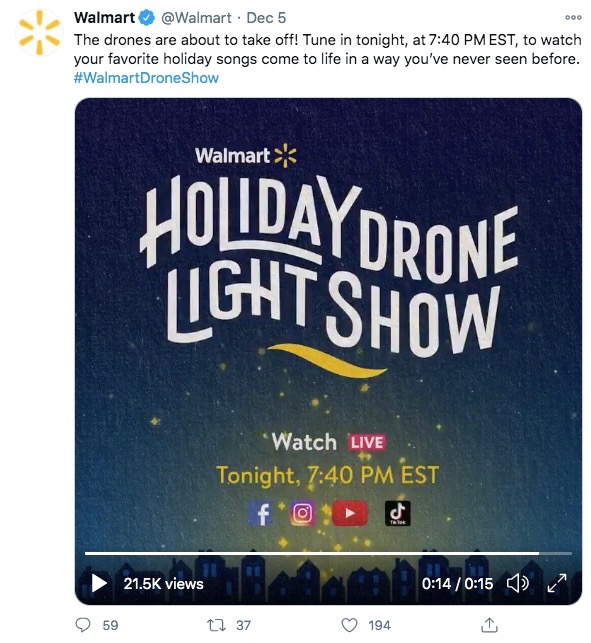 Twitter Video Requirements: Twitter Live Video by Walmart