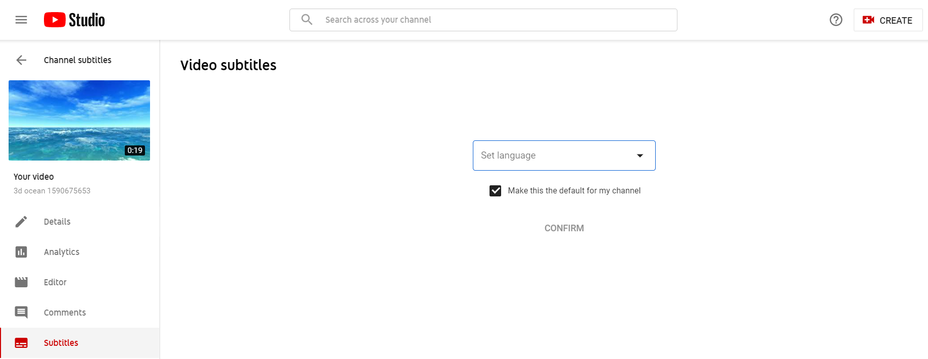 How to Create a SRT file for Video on Youtube