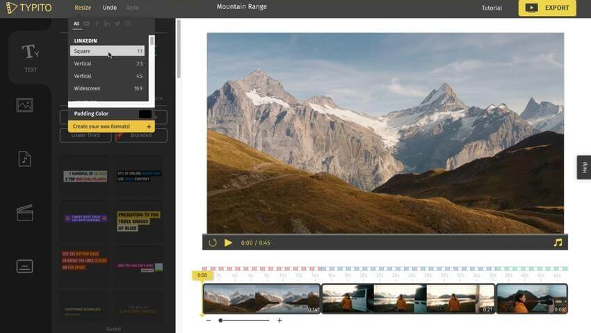 Online Square Video Editor