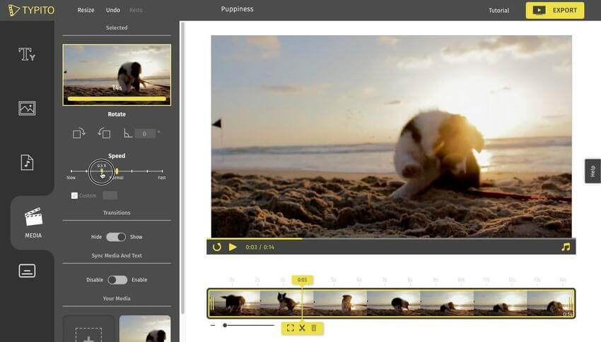 Online Slow Motion Video Editor